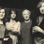 Lavin with her daughters, Caroline, Elizabeth and Valdi Walsh. Courtesy of the Ryan family.