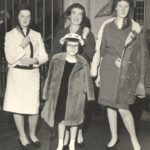 Mary Lavin with her daughters, Elizabeth, Caroline and Valdi Walsh. Courtesy of the Ryan family.