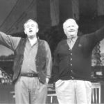 Mickey Kelly and Malachy McCourt in A Couple of Blackguards