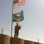 69th Infantry Piper in Afghanistan. Photo courtesy of Lt. Col James Gonyo.