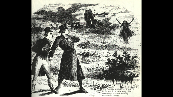 The Banshee is one of the most feared creatures in Irish lore.
