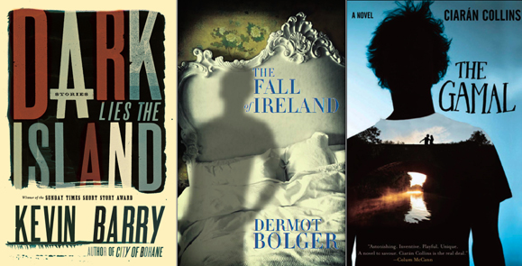 Dark Lies the Island, by Kevin Barry; The Fall of Ireland, by Dermot Bolger; The Gamal, by Ciarán Collins.
