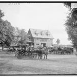 The Club House at Saratoga Springs Race Course, circa 1900. Photo: Library of Congress.