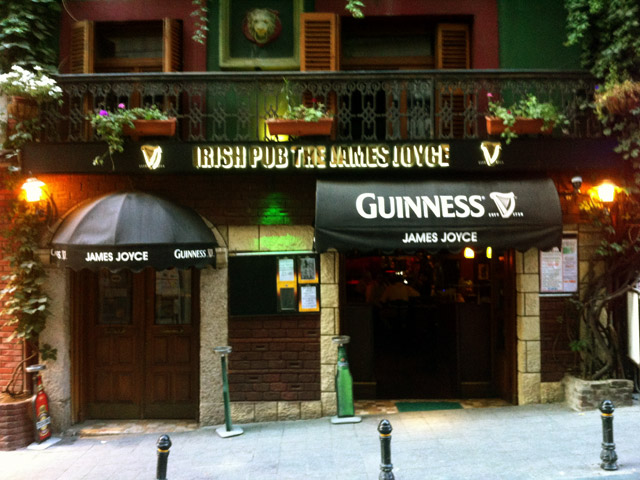 The James Joyce, in Istanbul (Image: istanbulhides.com)