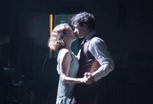 Last dance: Barry Ward as Jimmy and Simone Kirby as his old love, Oonagh in Ken Loach's new film Jimmy's Hall.