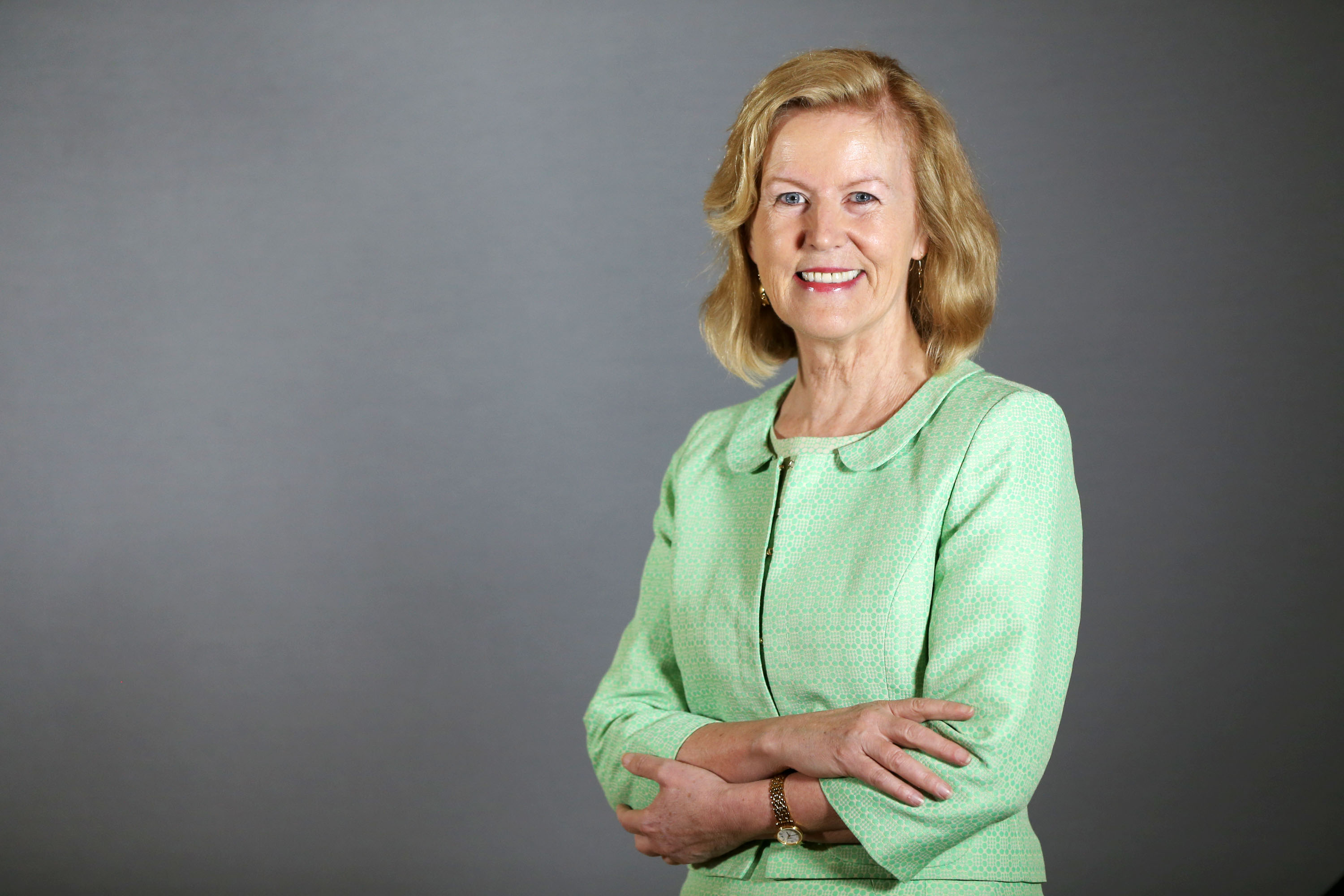 Ambassador Anne Anderson was named one of the 25 most powerful women in Ireland by xxx. (Photo: Maxwells Photography, courtesy Department of Foreign Affairs, Ireland)