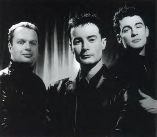 Left to Right: James Nelson, Niall Morris, and Matthew Gilsenan.