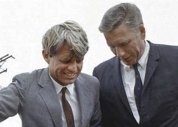 Robert Kennedy and Bill Barry hit it off they met in the FBI office in New York.