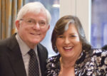 Talk show legend Phil Donahue presented Joanie Madden with the O'Neill Lifetime Achievement Award.
