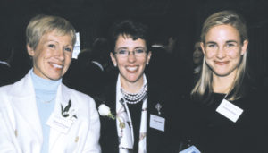New York: Honorees Barbara Corcoran, founder of The Corcoran Group; Darlene Daggett, President, U.S. Commerce for QVC; and guest Lyn Reisig