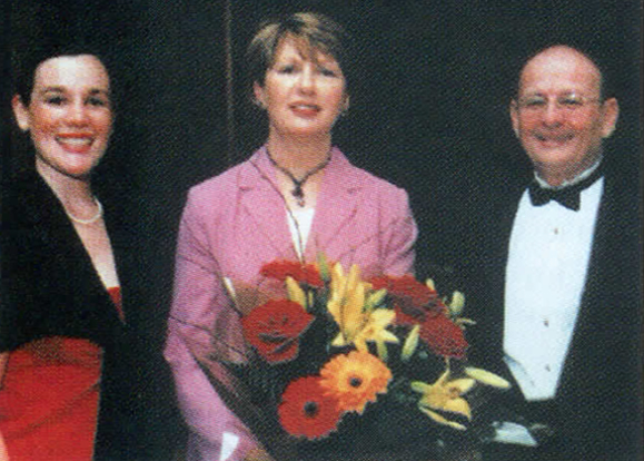 Left to Right: Anne-Marie Crowell, the IACI's Director of Development; Mary McAleese, President of Ireland; John P. Walsh, Sr., Chairman and CEOof the IACI.