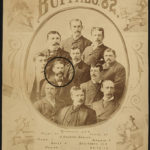 The Buffalo Bisons, 1882. Daily is circled.