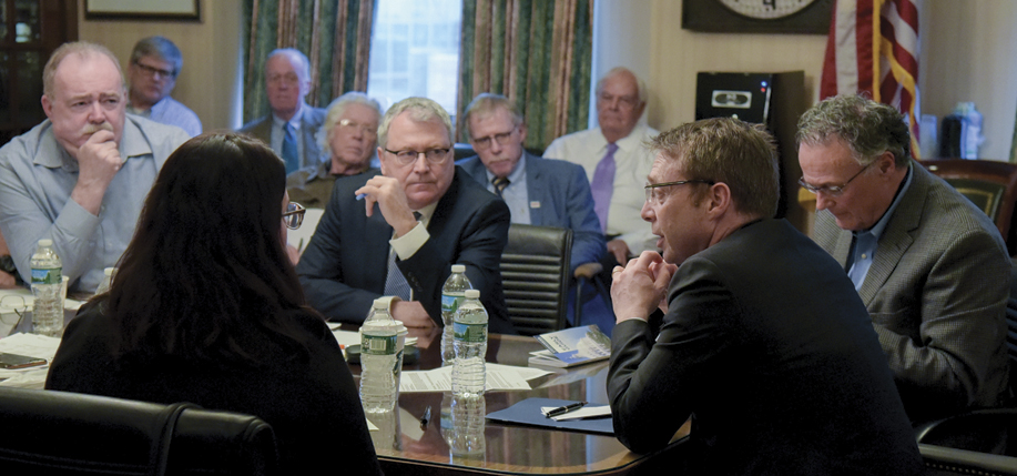 The American Brexit Committee convened in NYC in January.