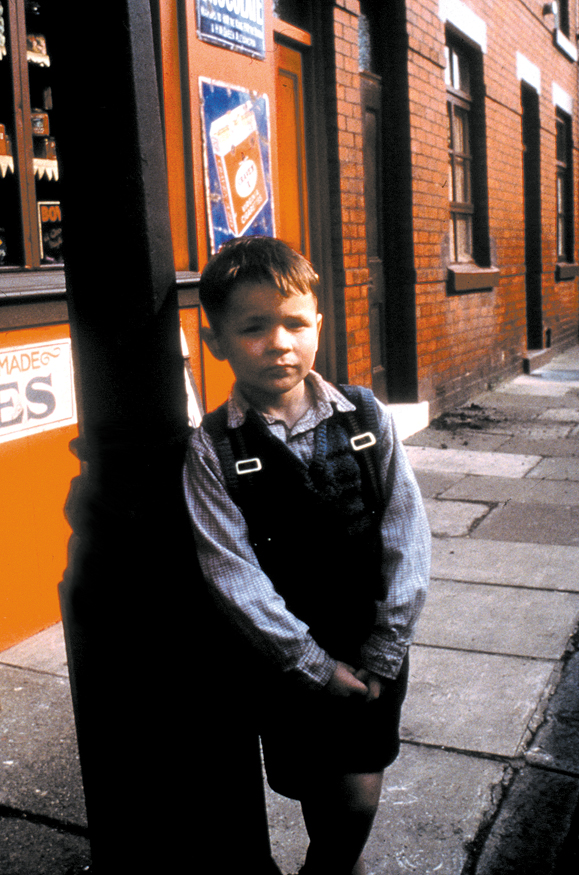 Anthony Borrows stars as Liam, a seven-year-old Irish boy suffering mutely.