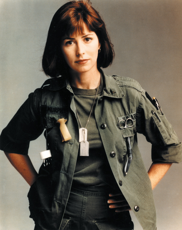<em>Dana Delany as Nurse McMurphy from the television series <strongChina Beach</strong>.</em>
