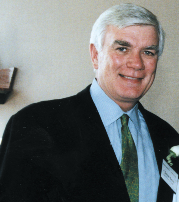 <em>Joseph Berry pictured at <strong>Irish America's</strong> Wall Street 50 Reception, July 11, 2001.</em>