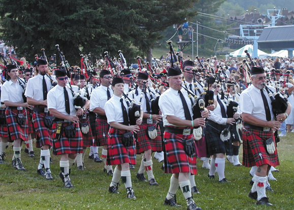 On Sunday, August 17, the breathtaking sound of 1,000 pipers blanketed the hills at Hunter Mountain Celtic Festival.