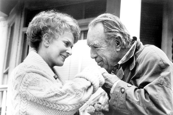 Anthony Quinn and Maureen O'Hara in Only the Looney