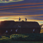 """""""Dan Ward's Stack"""" by Rockwell Kent. Courtesy of the Hermitage Museum, St. Petersburg, Russia."""