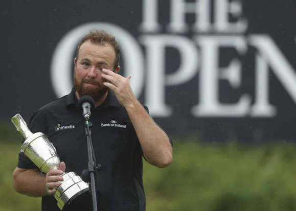 Shane Lowry after his win.